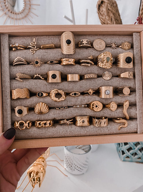 Joyero anillos