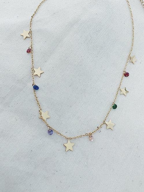 Estrellas y diamantes colores