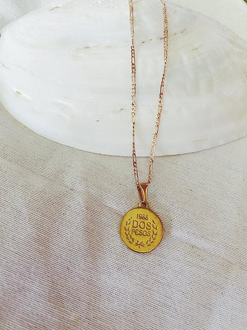Moneda+Cadenita 60cm