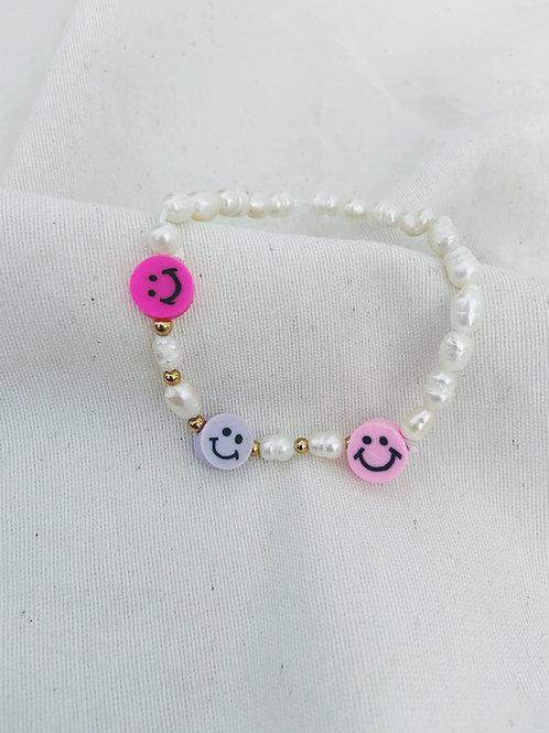 Pulsera happy perlas