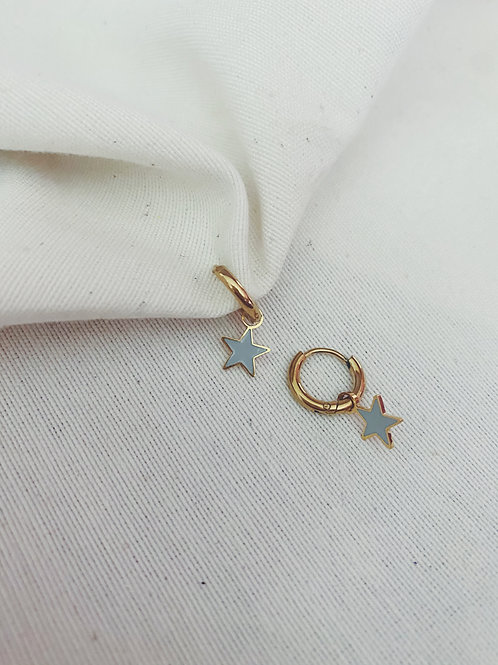 Estrella gris/azulina