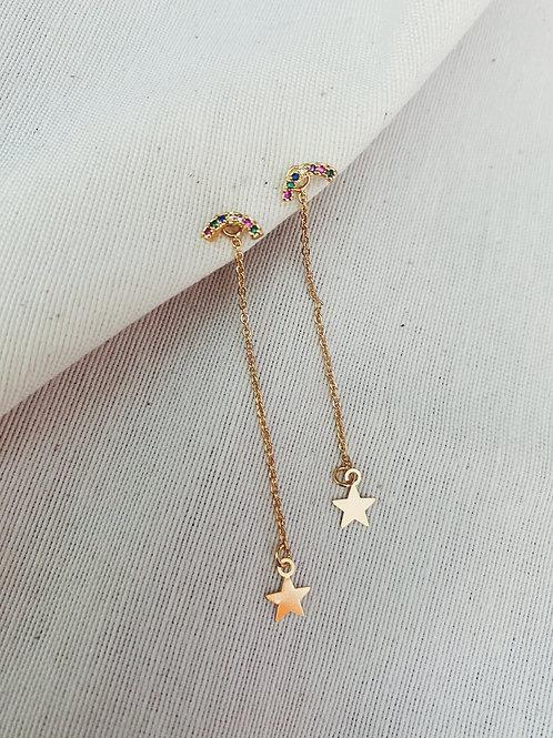 Arco iris estrellas
