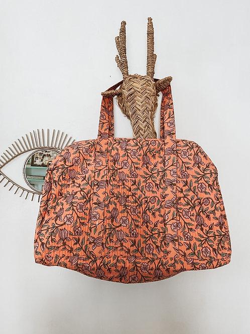 Bolsa de viaje coral