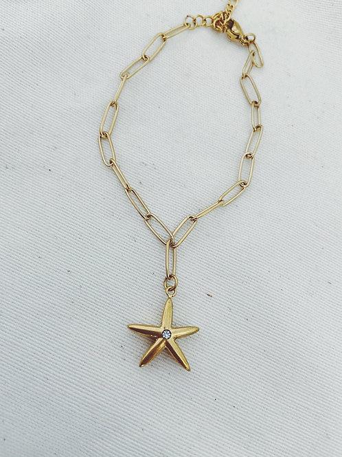 Pulsera estrella de mar