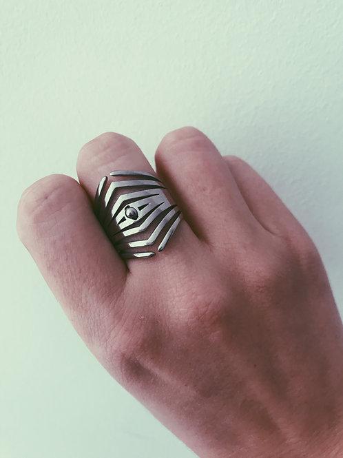 Triángulos plata