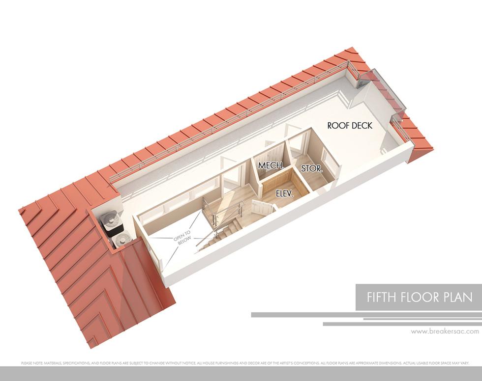 Roof Deck Plan