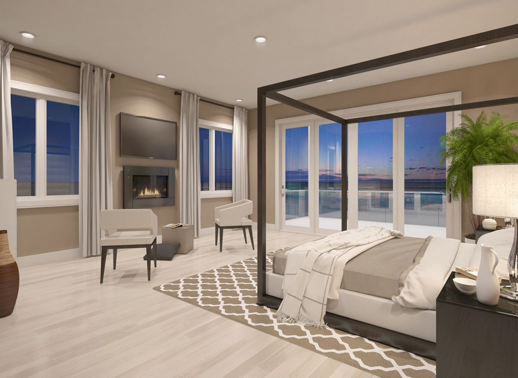 View at Master Suite