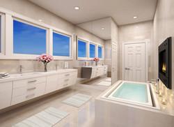 View at Master Bath