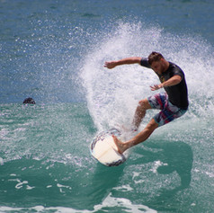 Surfing Hawaii