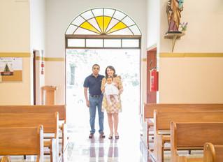 Batizado da Mariana!