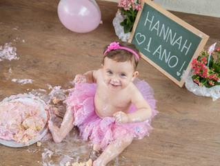 Smash the Cake da Hannah!