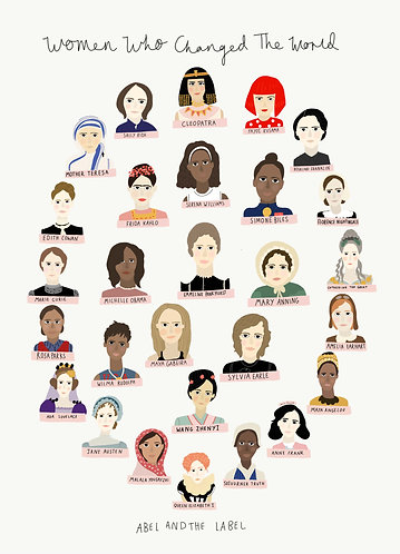 Women Who Changed The World Two Print