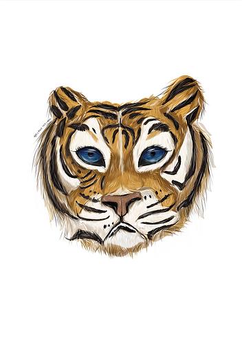 Terrance The Tiger Print