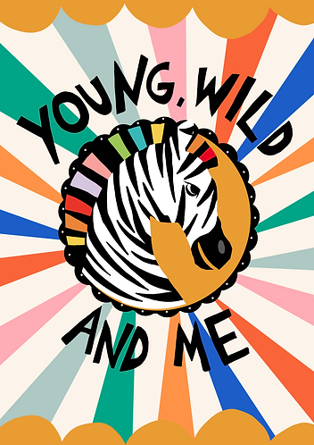 Young, Wild And Me Art Print