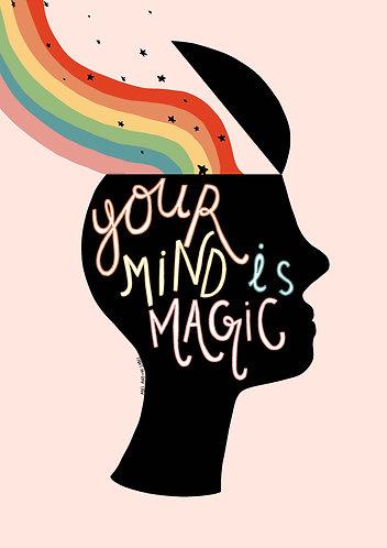 Your Mind is Magic Art Print
