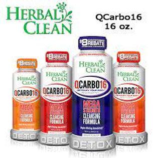 HERBAL CLEAN QCARBO DETOX 16oz.