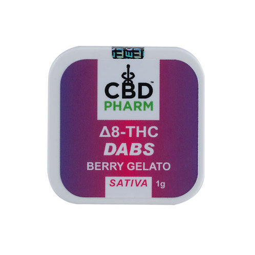 CBD Pharm Berry Gelato Sativa Delta 8 Concentrate