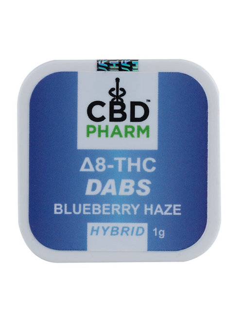 CBD Pharm Blueberry Haze Hybrid Delta 8 Concentrate