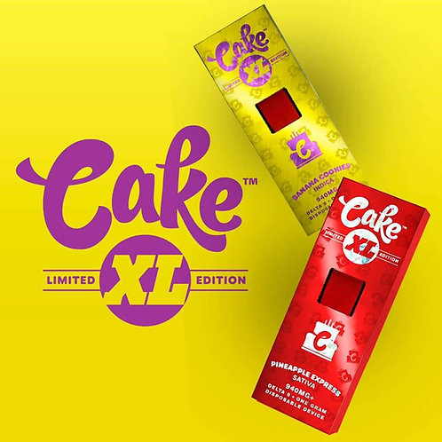 CAKE XL LIMITED EDITION DELTA 8 ONE GRAM RECHARGEABLE DISPOSABLE VAPE