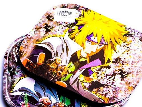 MINATO NARUTO - SMALL METAL ROLLING TRAY WITH MAGNETIC LID