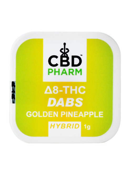 CBD Pharm Golden Pineapple Hybrid Delta 8 Concentrate