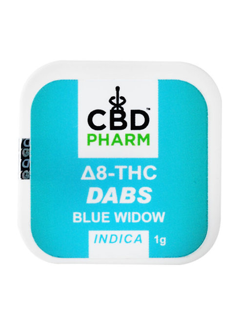 CBD Pharm Blue Widow Indica Delta 8 Concentrate