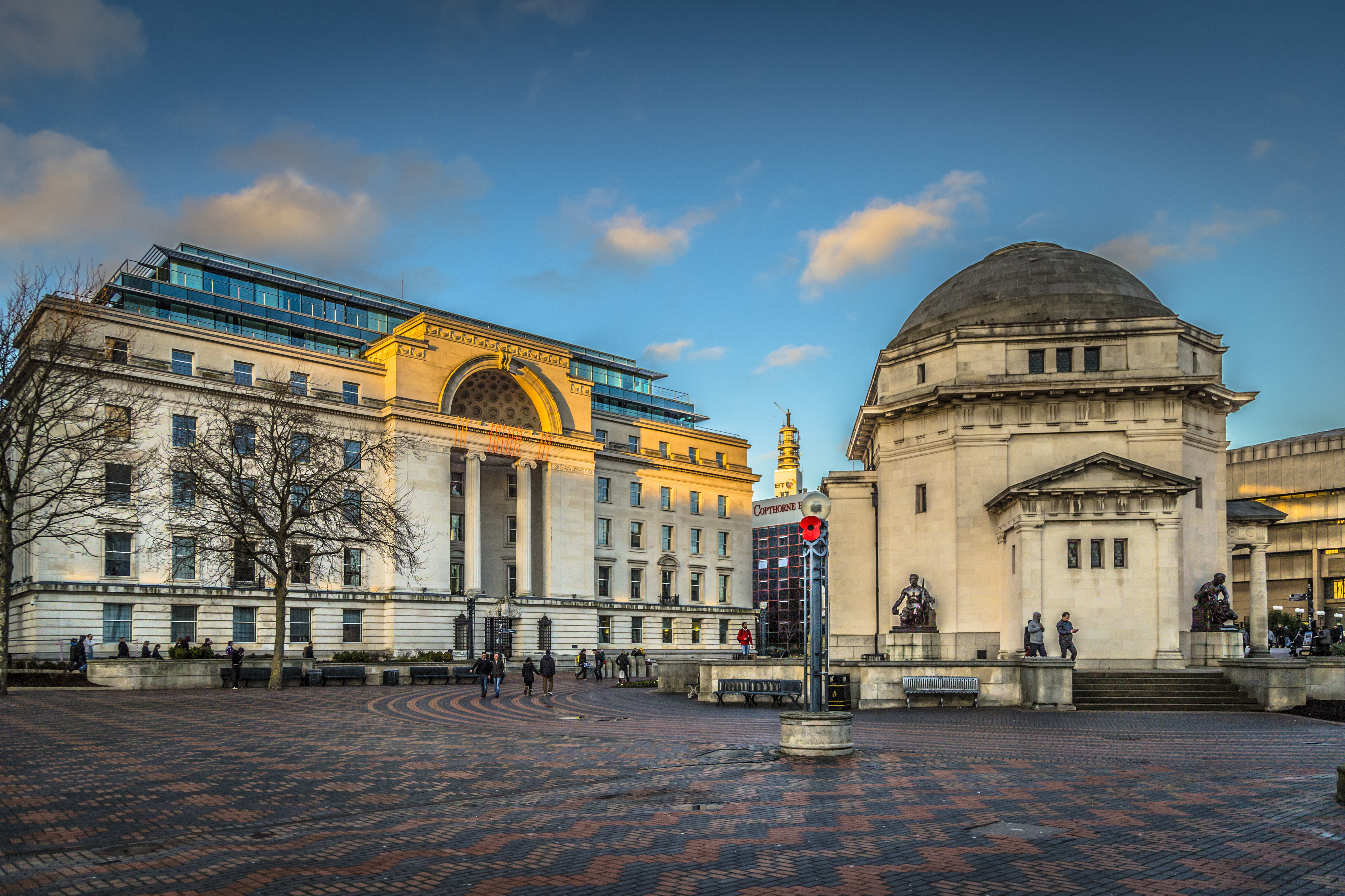 2014 - The Hall of Memory, Centenary Square, Birmingham.