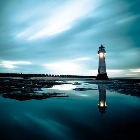 Lighthouse at New Brighton Beach