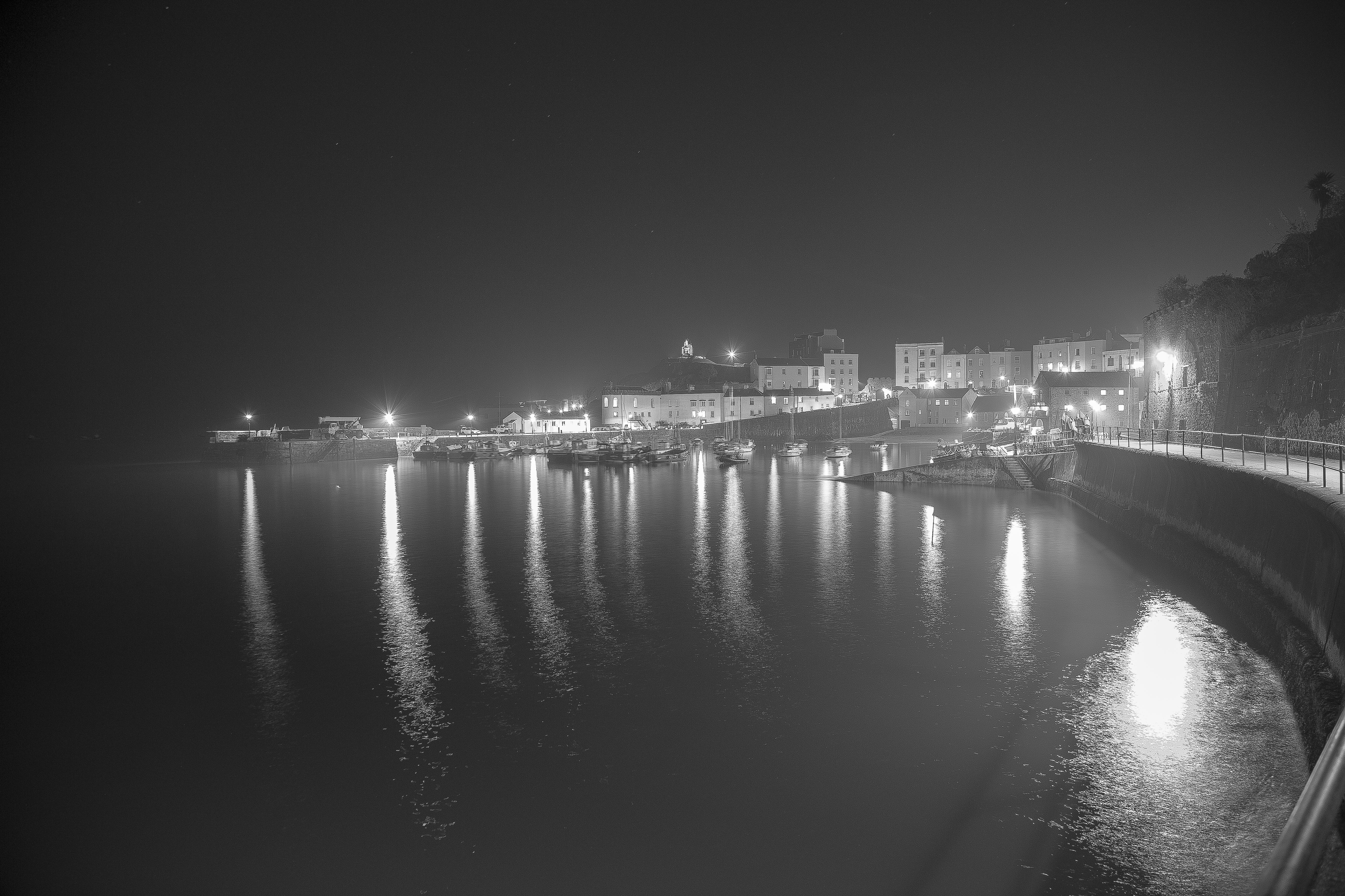 Tenby at night