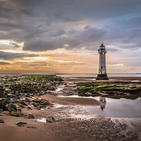 Lighthouse on New Brighton Beach