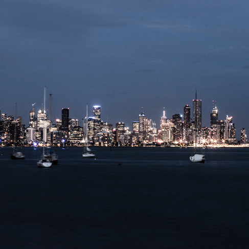 Melbourne from Williamstown