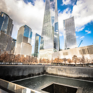 A view of One World Trade Centre