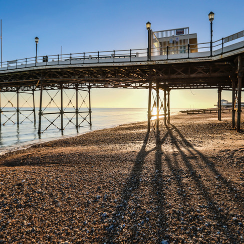 Worthing Sea Front by the Pier