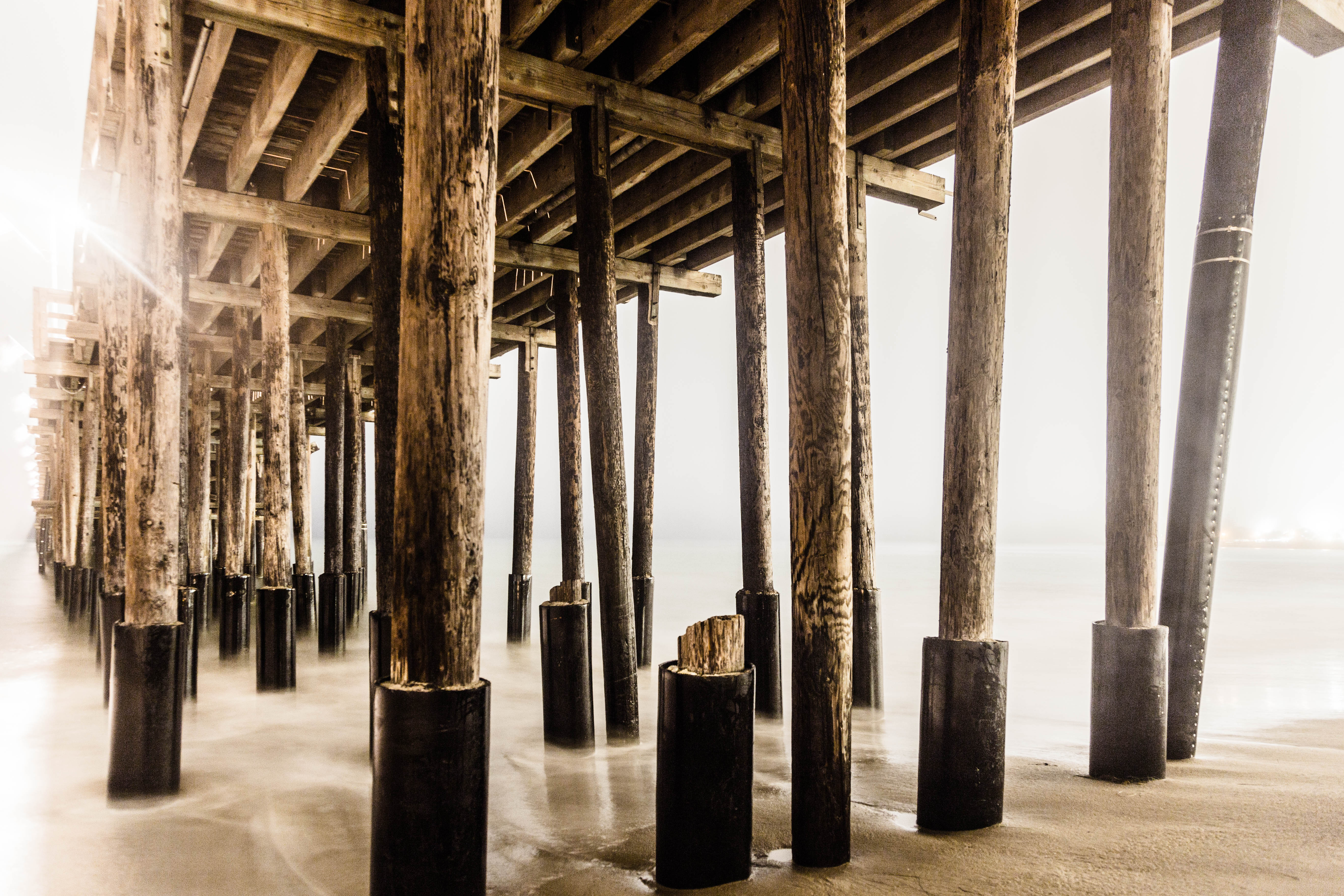 Under Ventura Pier