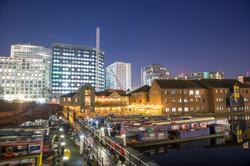 2020 - Gas Street Basin, Birmingham.