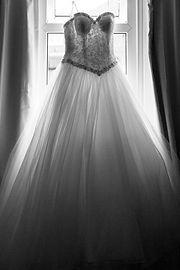 Wedding Dress by Bromsgrove Wedding Photographer