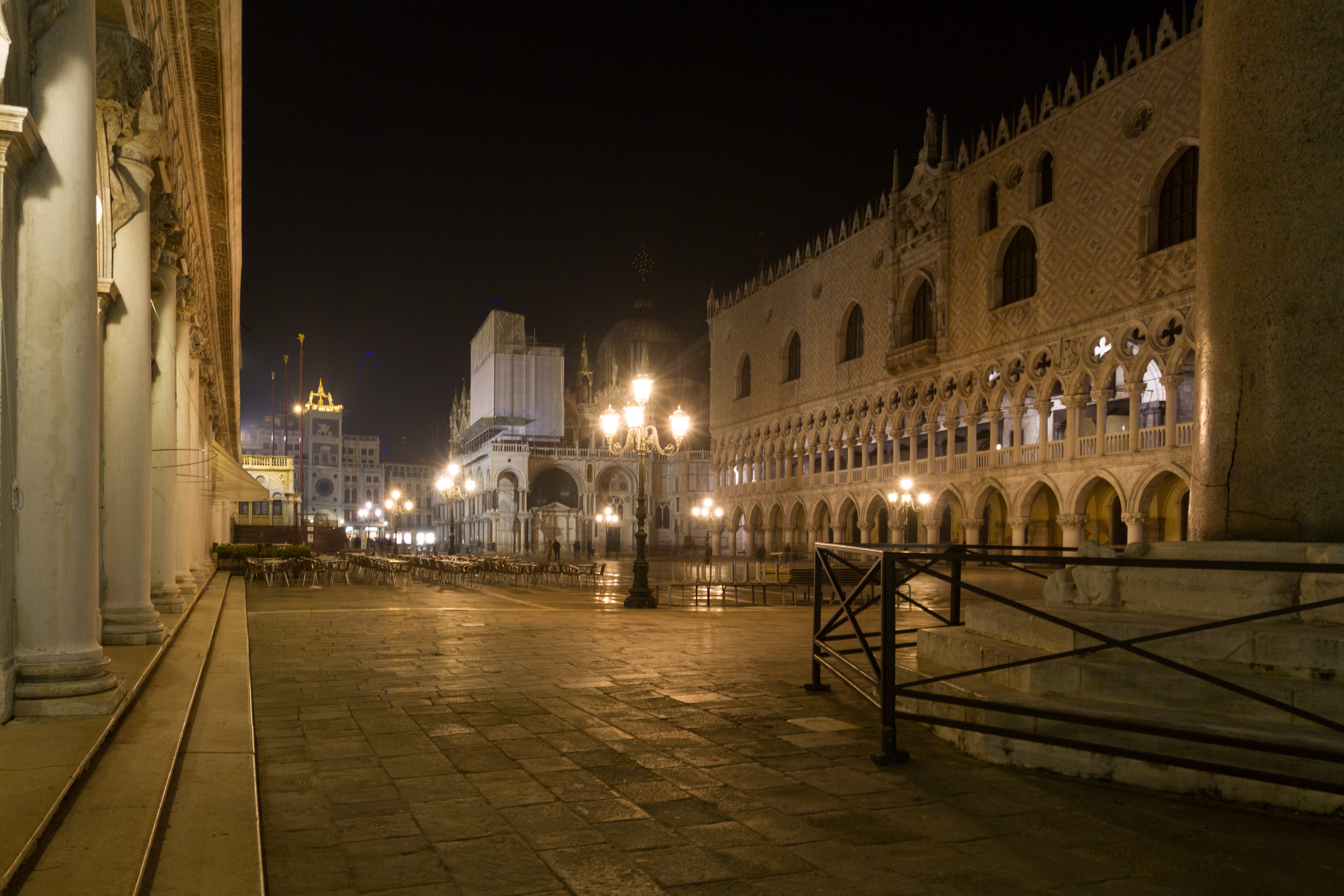 A view of Piazza San Marco