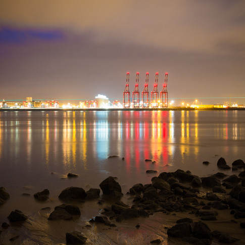 A view across Liverpool Bay