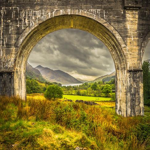 Part of Glenfinnan Viaduct, Scotland