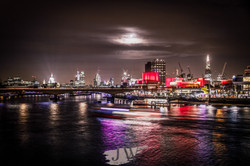 A view over the River Thames to the Southbank