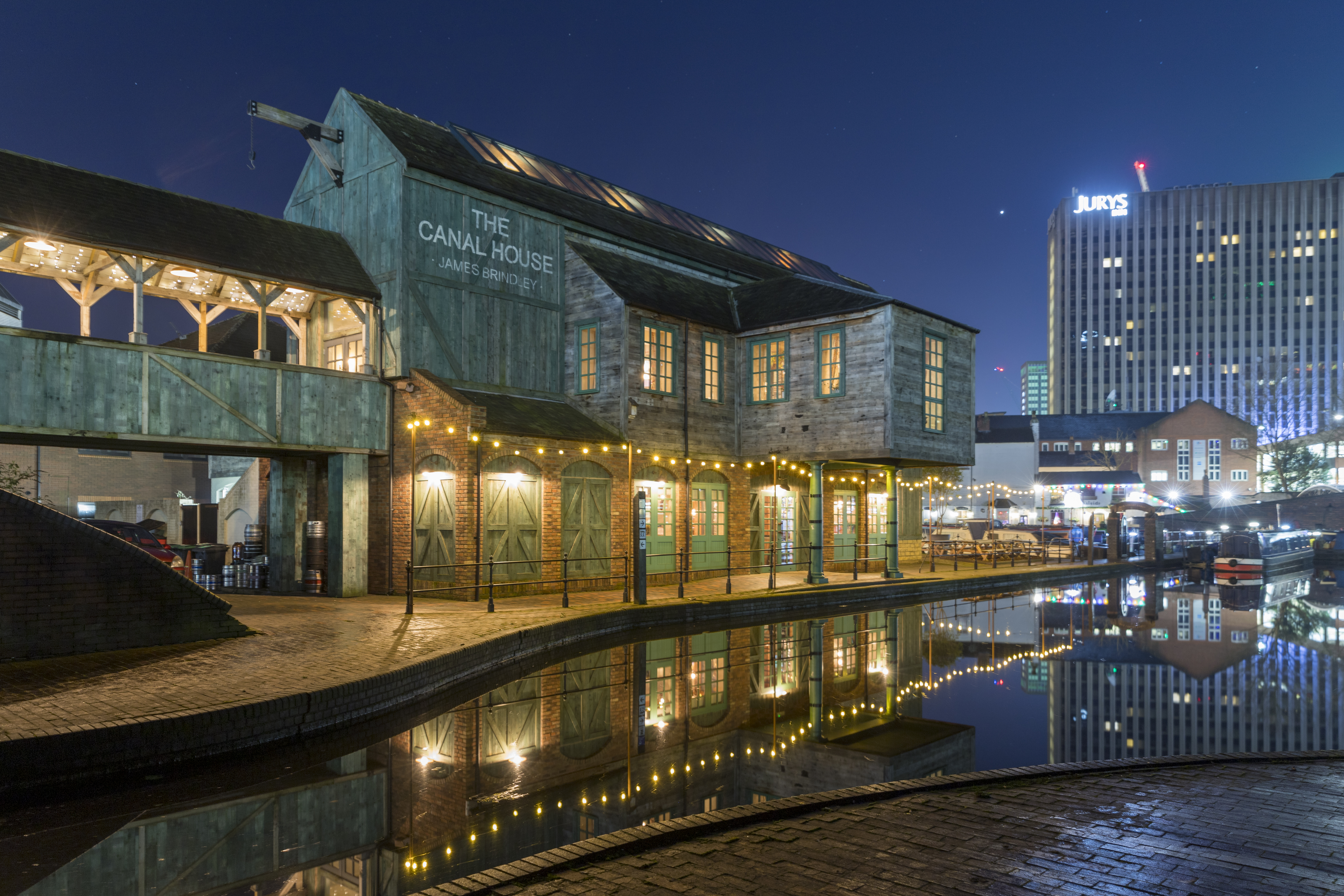 2020 - The Canal House, Gas Street Basin, Birmingham