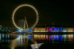 A view of the London Eye