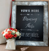 Vows here - love everywhere