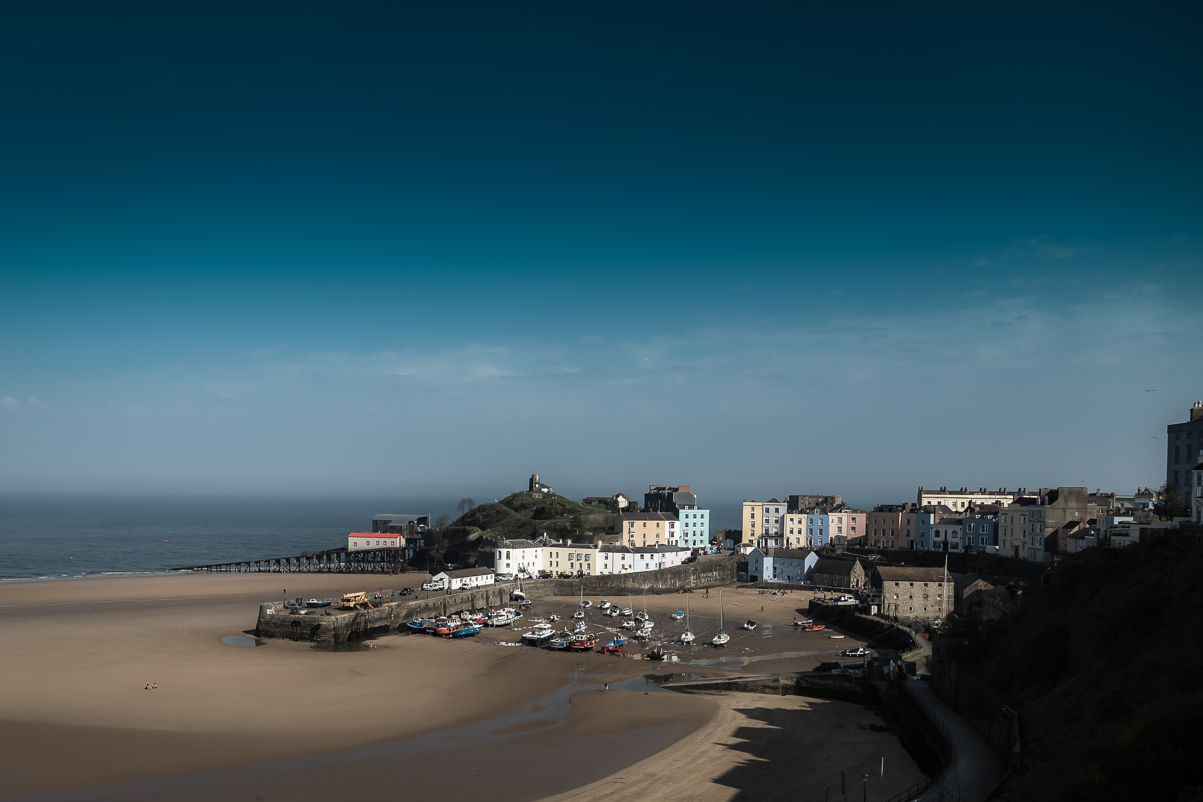 A view of Tenby, Wales