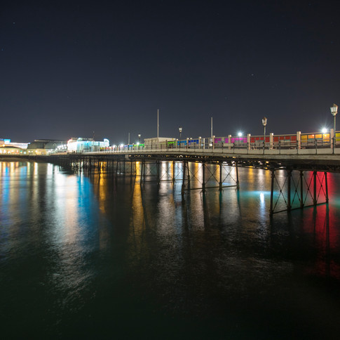 Worthing Seafront - a view of the pier