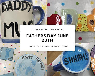 Paint Personalised Gifts For Fathers Day