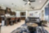Kitchen & Living TV Lounge