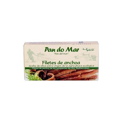 Filetes de Anchoa en Aceite de Oliva Ecológico Pan do mar (50gr)