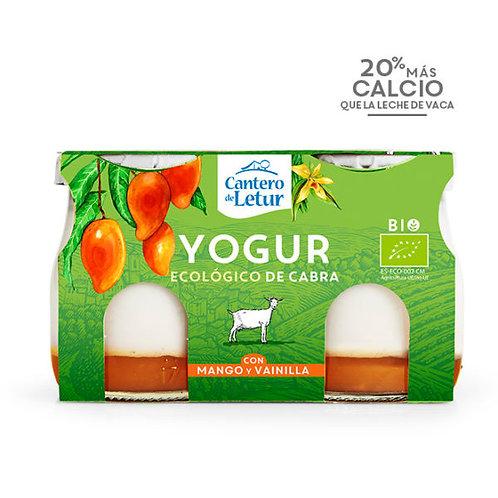 Yogur de Cabra con Mango y Vainilla ( 2 x 125 gr)