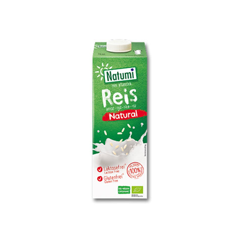 Leche de arroz natural (1 l)